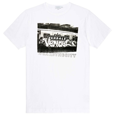 WE ARE THE CITY T-Shirt VANDAL PANEL white
