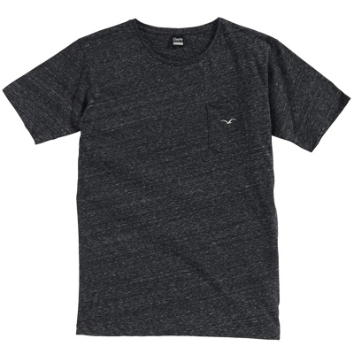 CLEPTOMANICX T-Shirt VINTAGE POCKET black