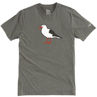 CLEPTOMANICX T-Shirt GULL heather dusty olive
