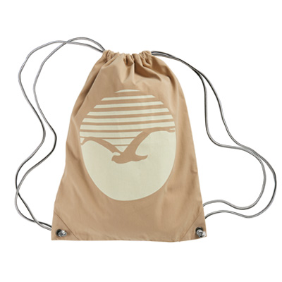 CLEPTOMANICX Gymbag SUNRISE warm sand
