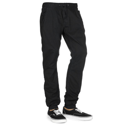STREETSPUN Jogger Pants TWILL CHILL black
