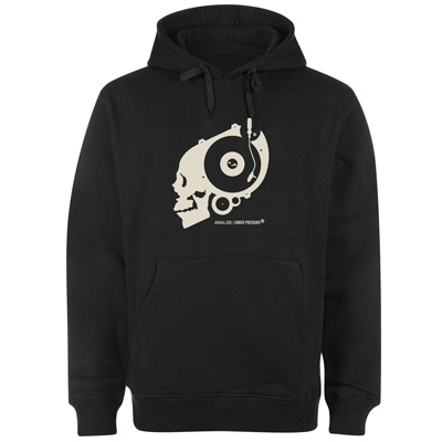 UNDERPRESSURE Hoody ANALOG black/white