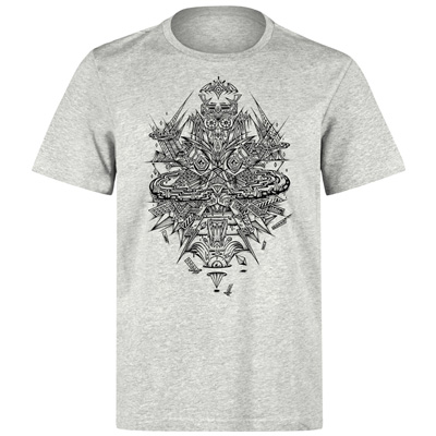 UNDERPRESSURE T-Shirt SKY VALLEY heather grey