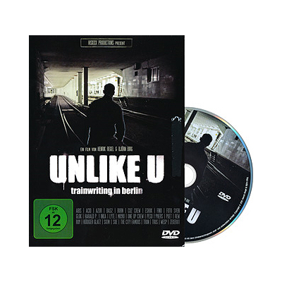 UNLIKE U -Trainwriting Berlin Graffiti DVD