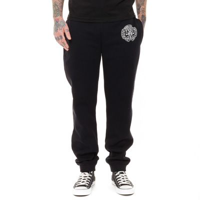 REBEL8 Sweatpants UNTIL DEATH black