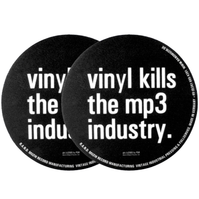 AIRBAG Slipmats VINYL KILLS THE MP3 (2pcs)