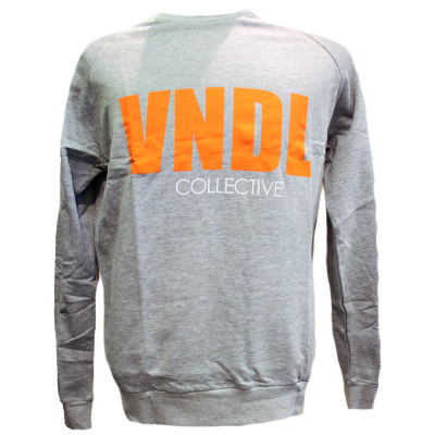 VANDAL COL Sweater STREET CREW grey/orange