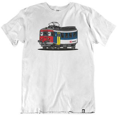 VANDALS ON HOLIDAYS T-Shirt SBB RBE-540 white
