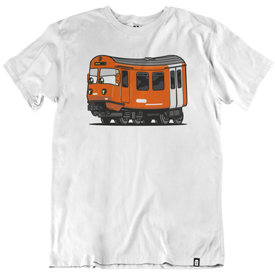 VANDALS ON HOLIDAYS T-Shirt RBS BE4 white
