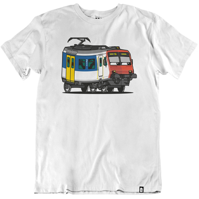 VANDALS ON HOLIDAYS T-Shirt SBB RBE-560 KOLIBRI white
