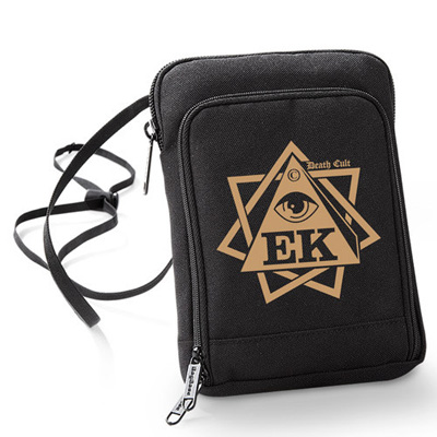 EGOKING Wallet Bag LOGO black/gold
