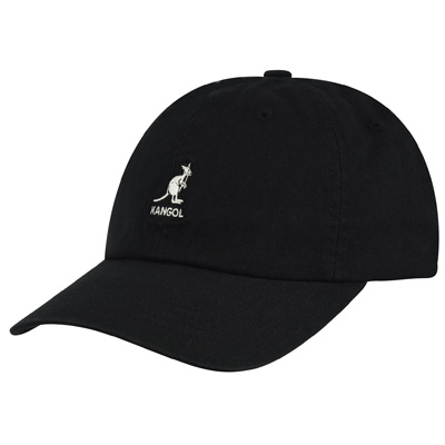 KANGOL Baseball Cap WASHED black