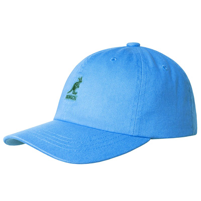KANGOL Baseball Cap WASHED sky blue