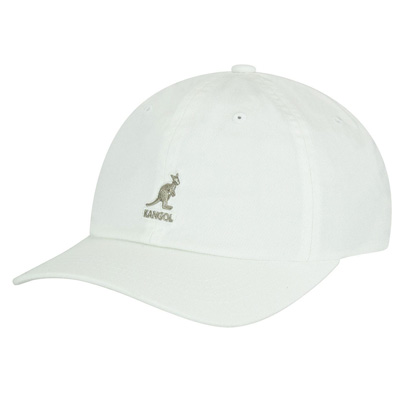 KANGOL Baseball Cap WASHED white