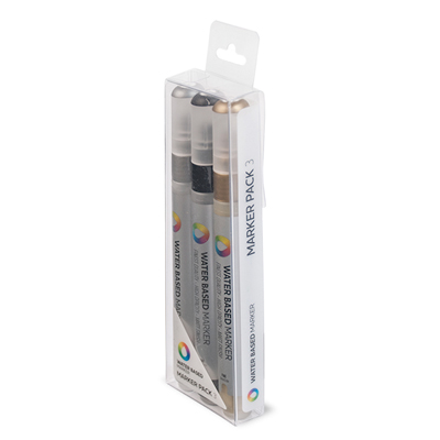 MTN WATER BASED Paint Marker 3mm 3er Set SGB