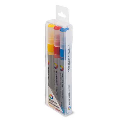 MTN WATER BASED Paint Marker 3mm 3er Set YRB