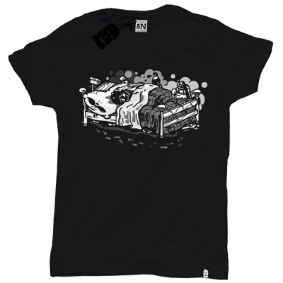 VANDALS ON HOLIDAYS T-Shirt WHILE YOU SLEEP black
