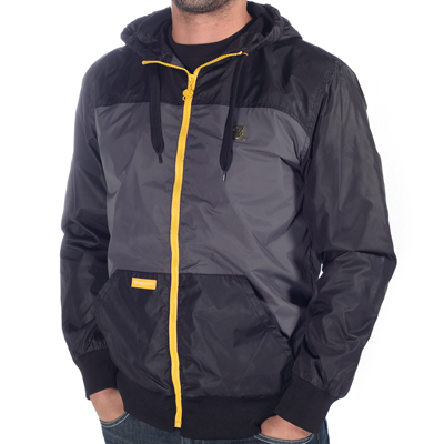 WRUNG Windbreaker MAZE black