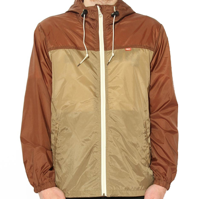 OBEY Jacke STANDARD ISSUE WINDBREAKER brown/khaki