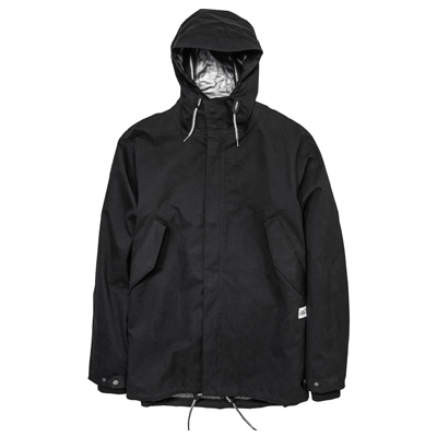 CLEPTOMANICX Jacket CONVERTER black