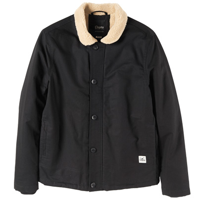 CLEPTOMANICX Jacket DECKHAND black