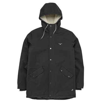 CLEPTOMANICX Winter Jacket LARUM black