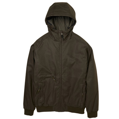 CLEPTOMANICX Winter Jacke POLARZIPPER HEMP 3 dark olive