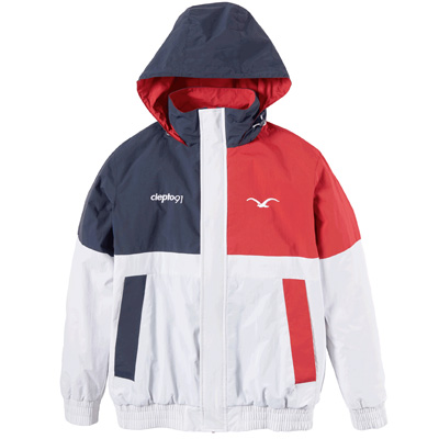 CLEPTOMANICX Winter Jacket NINESO white