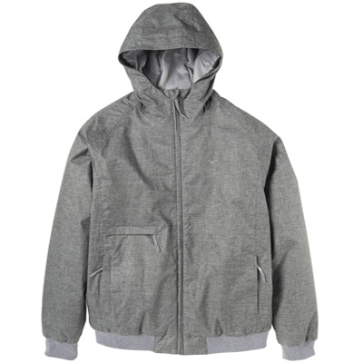 CLEPTOMANICX Winter Jacket POLARZIPPER HEMP 3 heather darkgrey