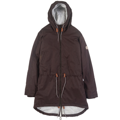 CLEPTOMANICX Girl Jacket DELPHI HEMP dark brown