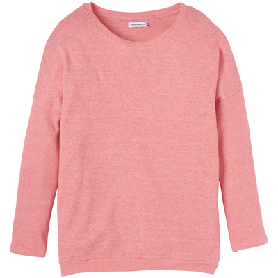 CLEPTOMANICX Girl Knit Sweater HENNI hibiscus