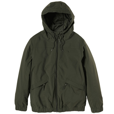 CLEPTOMANICX Girl Jacket SIMPLIST dark olive