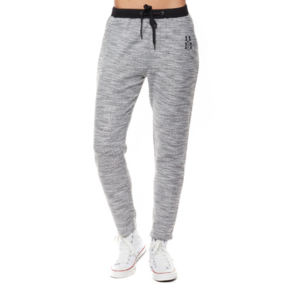 REBEL8 Girl Sweatpants MARLED heater grey