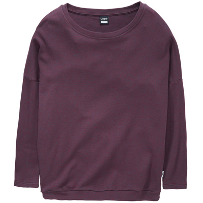 CLEPTOMANICX Girl Knit Sweater HENNI tawny port