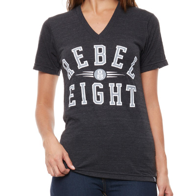REBEL8 Girl Shirt REIGNING CHAMPS black