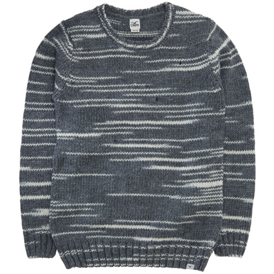 CLEPTOMANICX Knit Sweater DROPS storm grey