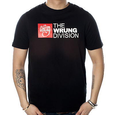 WRUNG T-Shirt THE DIVISION black