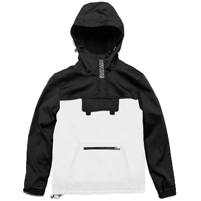 WRUNG Anorak Jacket WND white/black