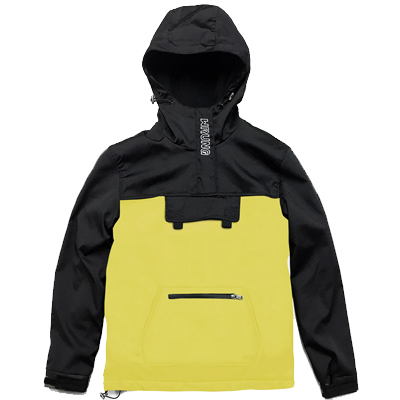 WRUNG Anorak Jacket WND yellow/black