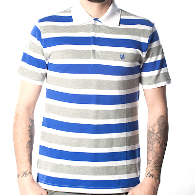 WRUNG Polo Shirt BATTLE white