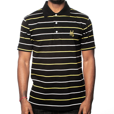 WRUNG Polo Shirt BECKS black