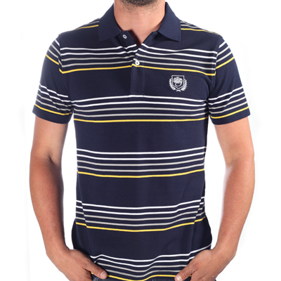 WRUNG Polo Shirt HORIZON dark blue