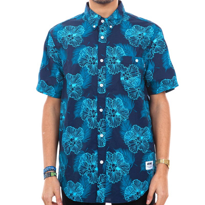 WRUNG Short Sleeve Shirt RIVIERA dark blue