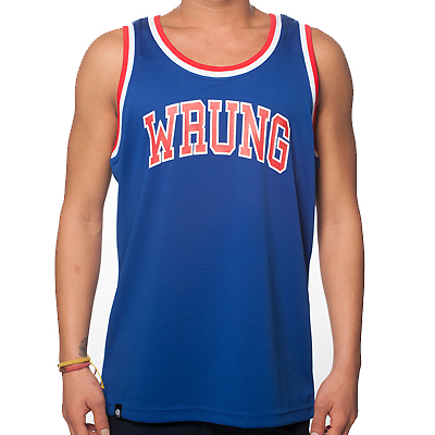 WRUNG Tank Top TEAMSTER blue