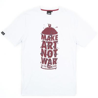 972236448 Wrung Division Paris - WRUNG T-Shirt MAKE ART white/burgundy - T ...