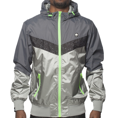 WRUNG Windbreaker ARROW grey
