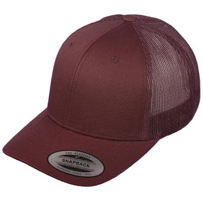 541b9abc07514 Yupoong - YUPOONG Retro Trucker Cap uni maroon - Trucker Caps ...
