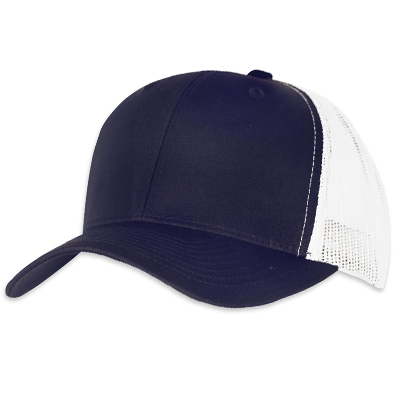 YUPOONG Retro Trucker Cap navy/white