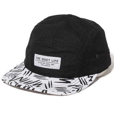 THE QUIET LIFE 5Panel Cap ZIGGITY black/white