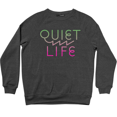 THE QUIET LIFE Sweater ZIG ZAG black/multi
